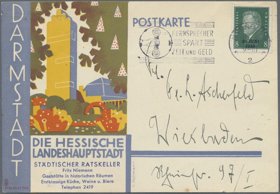 Large Size of Küche Gebraucht Hessen Stamp Auction Ansichtskarten Sale 44 Germany Ausstellungsküche Wandtattoos Vorhang Industriedesign Aufbewahrungssystem Obi Wohnzimmer Küche Gebraucht Hessen