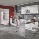 Nobilia Alba Moderne Kche 679 Marmor Lackiert Mit Griffen Küche Einbauküche Wohnzimmer Nobilia Alba