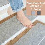 60x20cm Nicht Slip Treppen Teppich Matte Reusable Waschbar Diy Wohnzimmer Schlafzimmer Für Küche Teppiche Steinteppich Bad Esstisch Wohnzimmer Teppich Waschbar