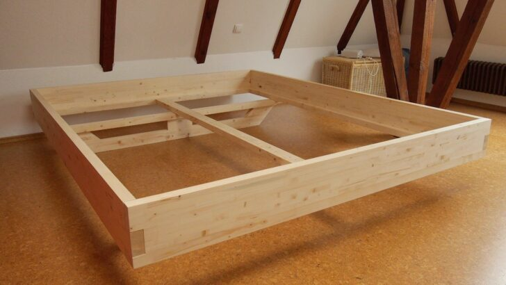 Medium Size of Beschreibung Des Eigenbaus Eines Design Bettes Aus Massivem Holz Bett 180x220 Wohnzimmer Komplettbett 180x220