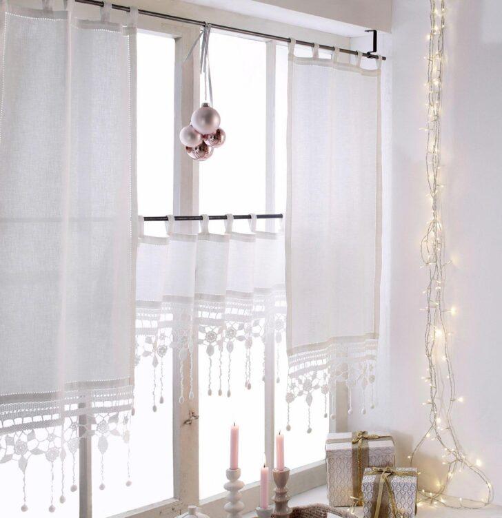 Medium Size of Bonprix Gardinen Querbehang Scheibengardine Groglockner Wohnzimmer Scheibengardinen Küche Für Die Schlafzimmer Betten Fenster Wohnzimmer Bonprix Gardinen Querbehang