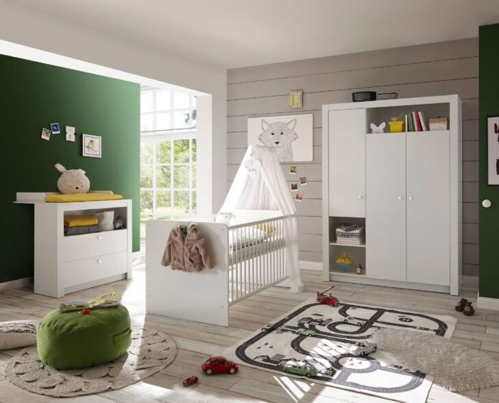 Medium Size of Kleiderschrank Real Babyzimmer Set Paula 3tlg Wickelkommode Babybett Mit Regal Wohnzimmer Kleiderschrank Real