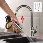 Ausziehbarer Wasserhahn Undicht Tropft Niederdruck Armatur Kche Für Küche Bad Wandanschluss Esstisch Wohnzimmer Ausziehbarer Wasserhahn Undicht