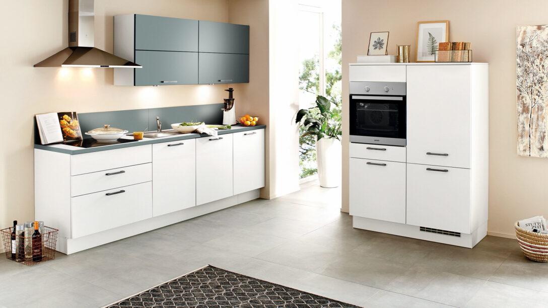 Large Size of Nobilia Alba Kche Touch 876 Wei Matt Betongrau Wandsticker Mit Küche Einbauküche Wohnzimmer Nobilia Alba