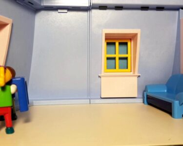 Playmobil Kinderzimmer Junge 6556 Wohnzimmer Playmobil Puppenhaus 5303 Stop Motion Film Movie Video Sofa Kinderzimmer Regal Weiß Regale