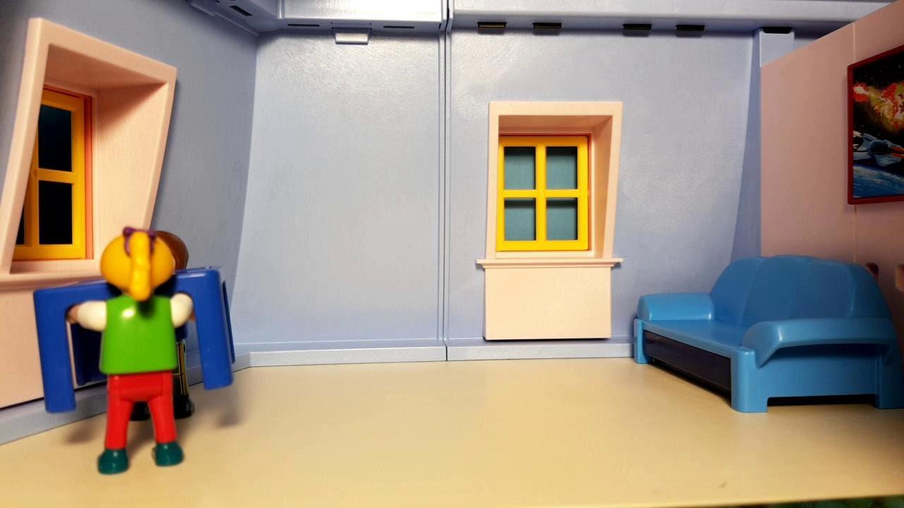 Full Size of Playmobil Puppenhaus 5303 Stop Motion Film Movie Video Sofa Kinderzimmer Regal Weiß Regale Wohnzimmer Playmobil Kinderzimmer Junge 6556