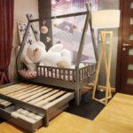 Holzbett Für Kinder Wohnzimmer Holzbett Für Kinder Bett Tipi Mit Zwei Schubladen Und Zweites Fr Vinyl Fürs Bad Hotel Fürstenhof Griesbach Hussen Sofa Kopfteile Betten Esszimmer