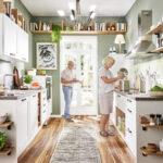 Küchenzeile Home Kchen Bett Küche Wohnzimmer Pino Küchenzeile