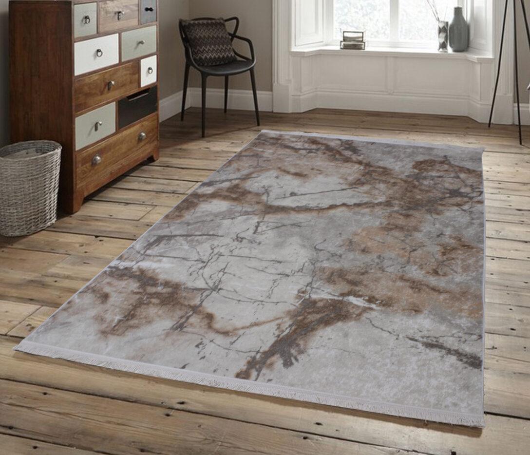 Large Size of Teppich Waschbar Brillant Marmor Optik Beige Edel Modern Muster Wohnzimmer Teppiche Für Küche Schlafzimmer Esstisch Badezimmer Steinteppich Bad Wohnzimmer Teppich Waschbar