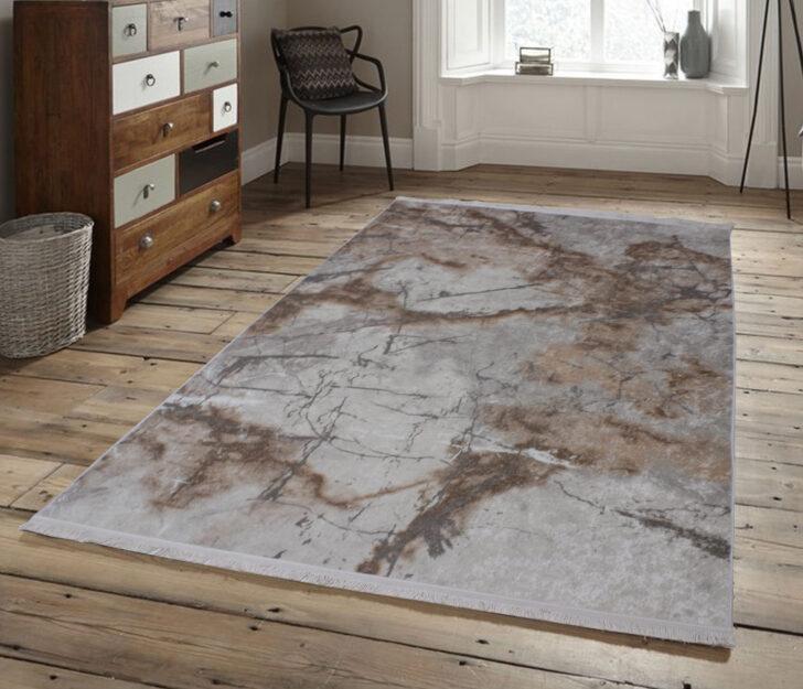 Medium Size of Teppich Waschbar Brillant Marmor Optik Beige Edel Modern Muster Wohnzimmer Teppiche Für Küche Schlafzimmer Esstisch Badezimmer Steinteppich Bad Wohnzimmer Teppich Waschbar