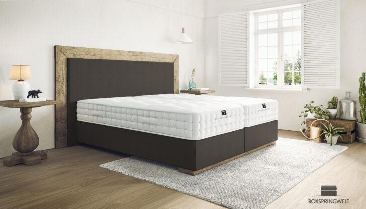 Medium Size of Komplettbett 180x220 Designer Boxspringbett Carlos 180 220 Aus Antikholz Bett Wohnzimmer Komplettbett 180x220