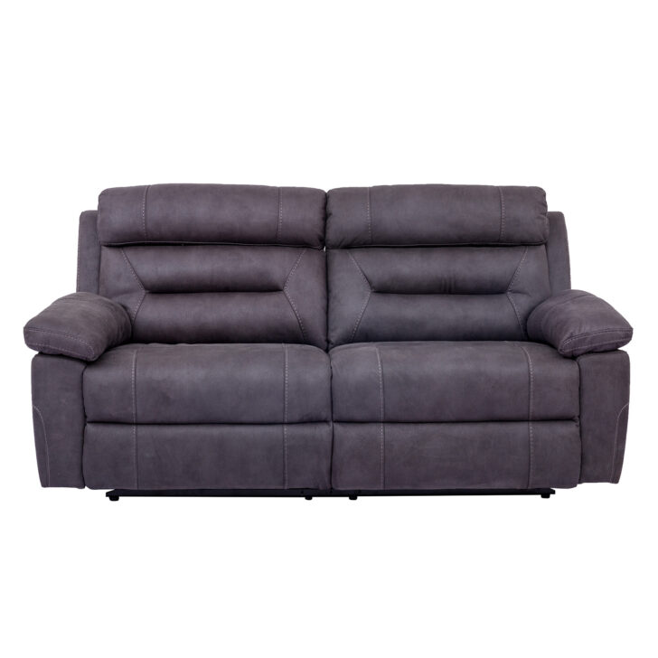 Kinosessel 2er Microfaser Sofa Elektrisch Set 2 Sofas Mit Sessel Relaxfunktion Online Bei Grau Wohnzimmer Kinosessel 2er Microfaser