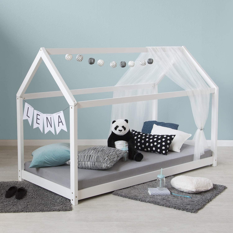 Full Size of Amazonde Homestyle4u 1849 Bett 100x200 Weiß Betten Wohnzimmer Hausbett 100x200