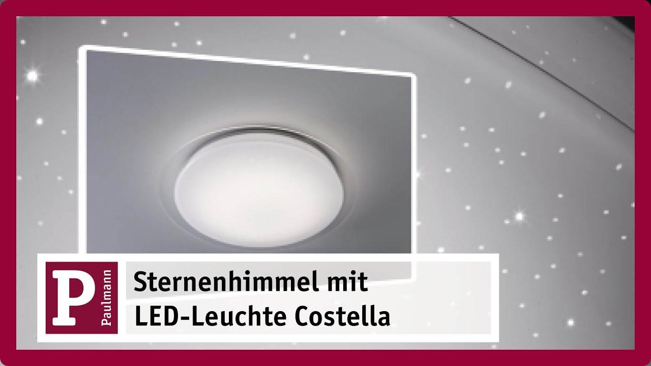 Full Size of Starsleep Sternenhimmel Led Deckenleuchte Costella Mit Youtube Wohnzimmer Starsleep Sternenhimmel