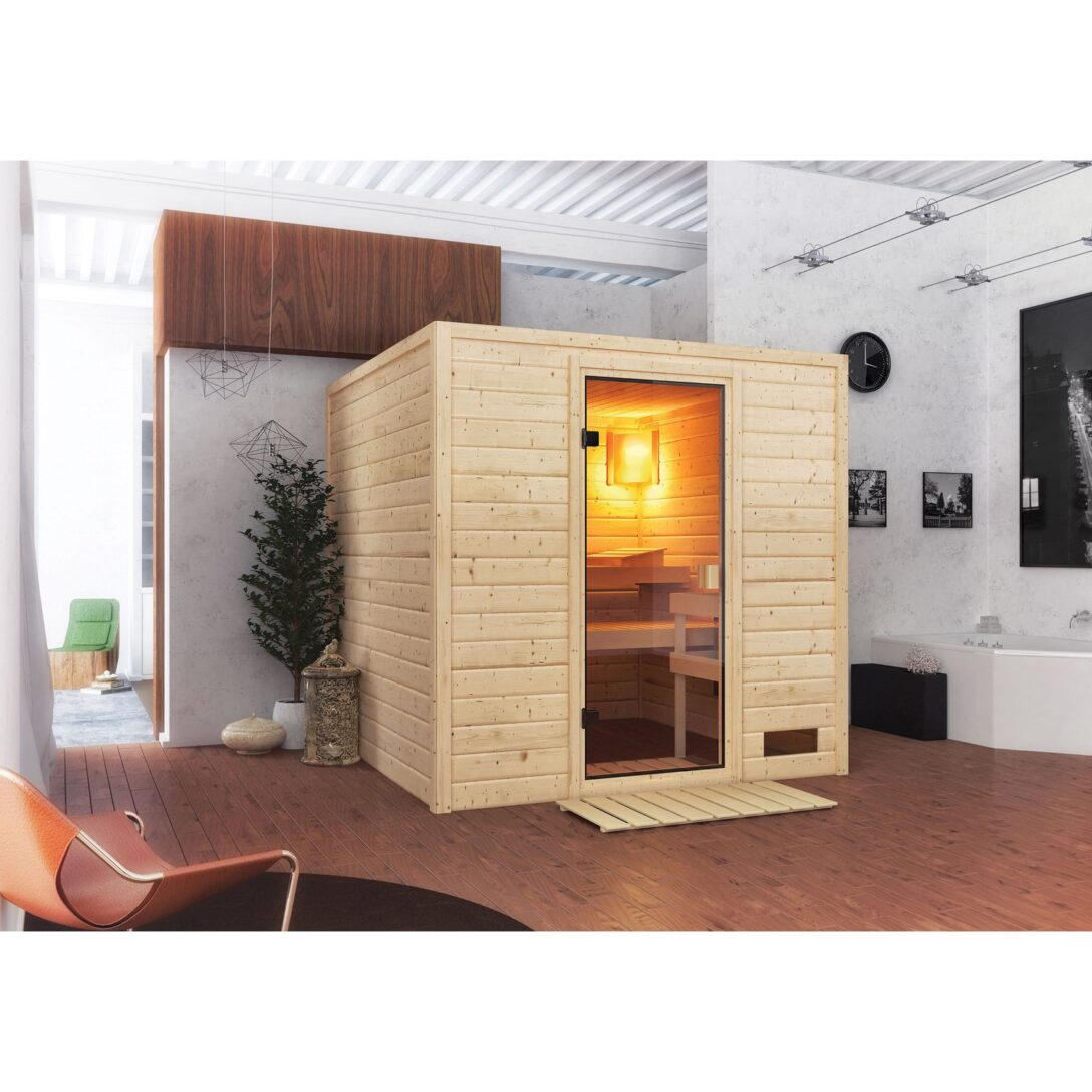 Large Size of Saunaholz Kaufen Obi Woodfeeling Sauna Jara Mit Fronteinstieg Einbauküche Mobile Küche Immobilienmakler Baden Regale Nobilia Fenster Immobilien Bad Homburg Wohnzimmer Saunaholz Obi