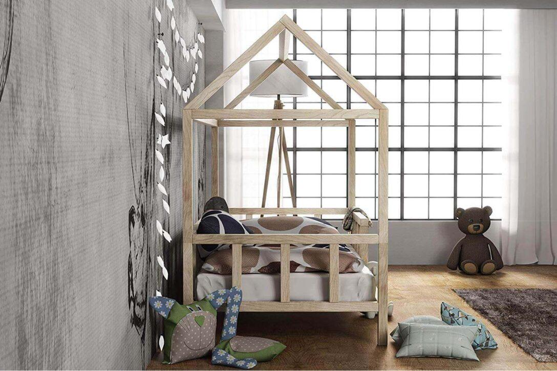 Large Size of Kinderbett Hausbett Mit Rausfallschutz Holz Bett Weiß 100x200 Betten Wohnzimmer Hausbett 100x200