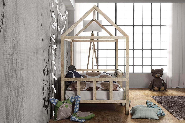 Full Size of Kinderbett Hausbett Mit Rausfallschutz Holz Bett Weiß 100x200 Betten Wohnzimmer Hausbett 100x200