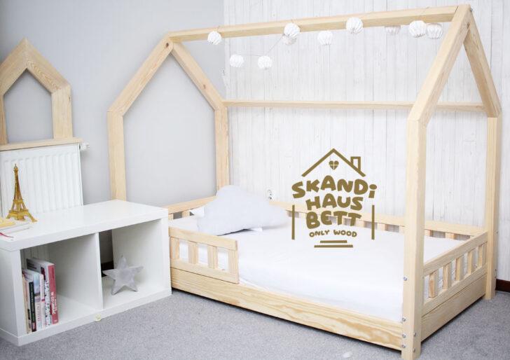 Medium Size of Skandi Hausbett Bett 100x200 Betten Weiß Wohnzimmer Hausbett 100x200