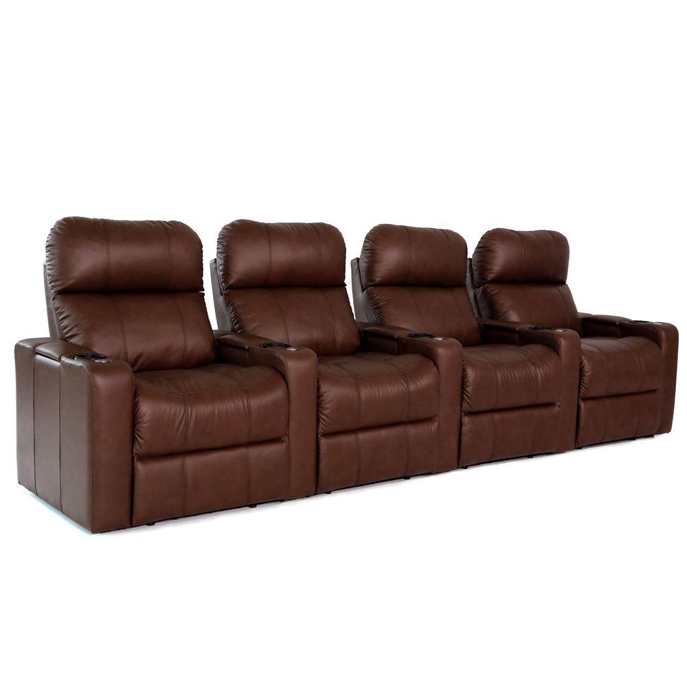 Full Size of Sofa Elektrisch Zinea Kinosessel Baron 4 Sitzer Premiumleder Home 2er Grau Microfaser Wohnzimmer Kinosessel 2er Microfaser