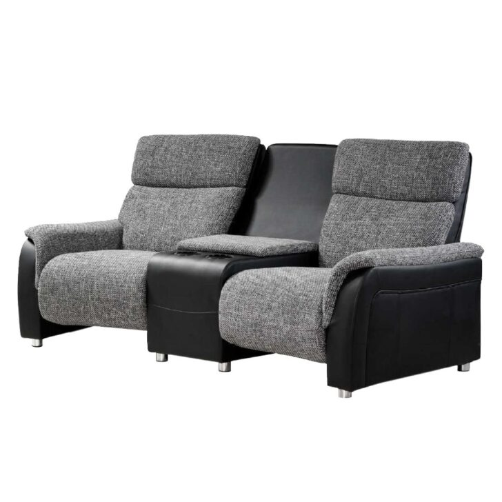 Medium Size of Sofa Mit Relaxfunktion 2er Couch In Anthrazit Microfaser Chiceria Grau Wohnzimmer Kinosessel 2er Microfaser