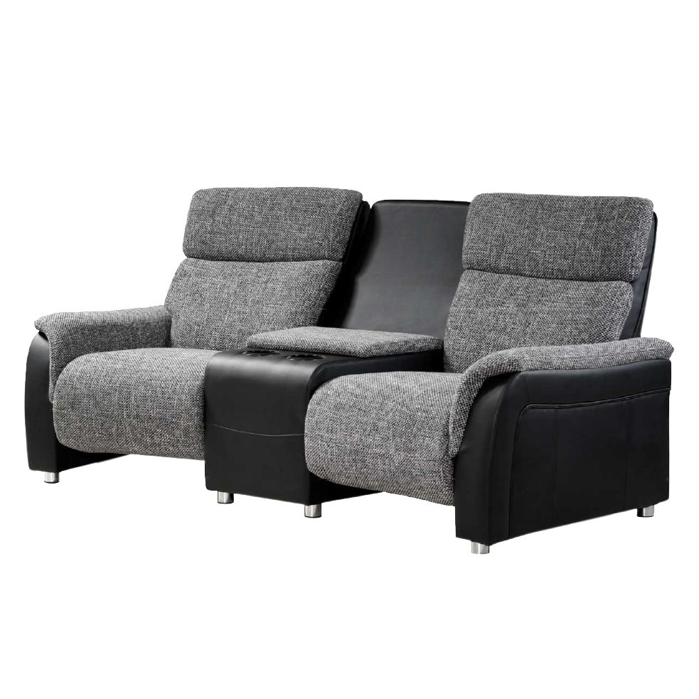Full Size of Sofa Mit Relaxfunktion 2er Couch In Anthrazit Microfaser Chiceria Grau Wohnzimmer Kinosessel 2er Microfaser
