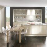 Moderne Kche Flair 424 Nobilia Holz Kochinsel Lackiert Küche Einbauküche Wohnzimmer Nobilia Alba