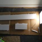 Schritt 9 Der Sockel The Ikea Billy Project Tagesdecke Bett Wohnzimmer Deckenleuchten Küche Schwimmbecken Garten Deckenlampe Schlafzimmer Decke Im Bad Wohnzimmer Ikea Sockelleiste Ecke
