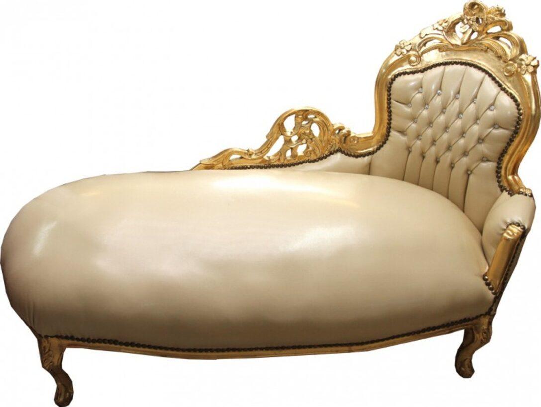 Large Size of Recamiere Barock Boudoir Diplomatie Chaiselongue Rot Casa Padrino Creme Gold Lederoptik Mit Bling Sofa Bett Wohnzimmer Recamiere Barock
