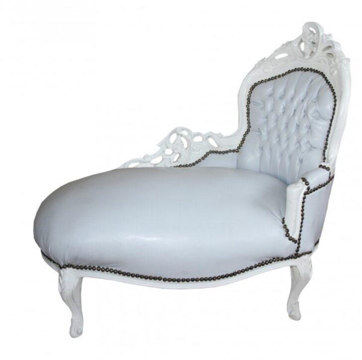 Medium Size of Recamiere Barock Chaiselongue Wei Mbel Sofa Bett Mit Wohnzimmer Recamiere Barock