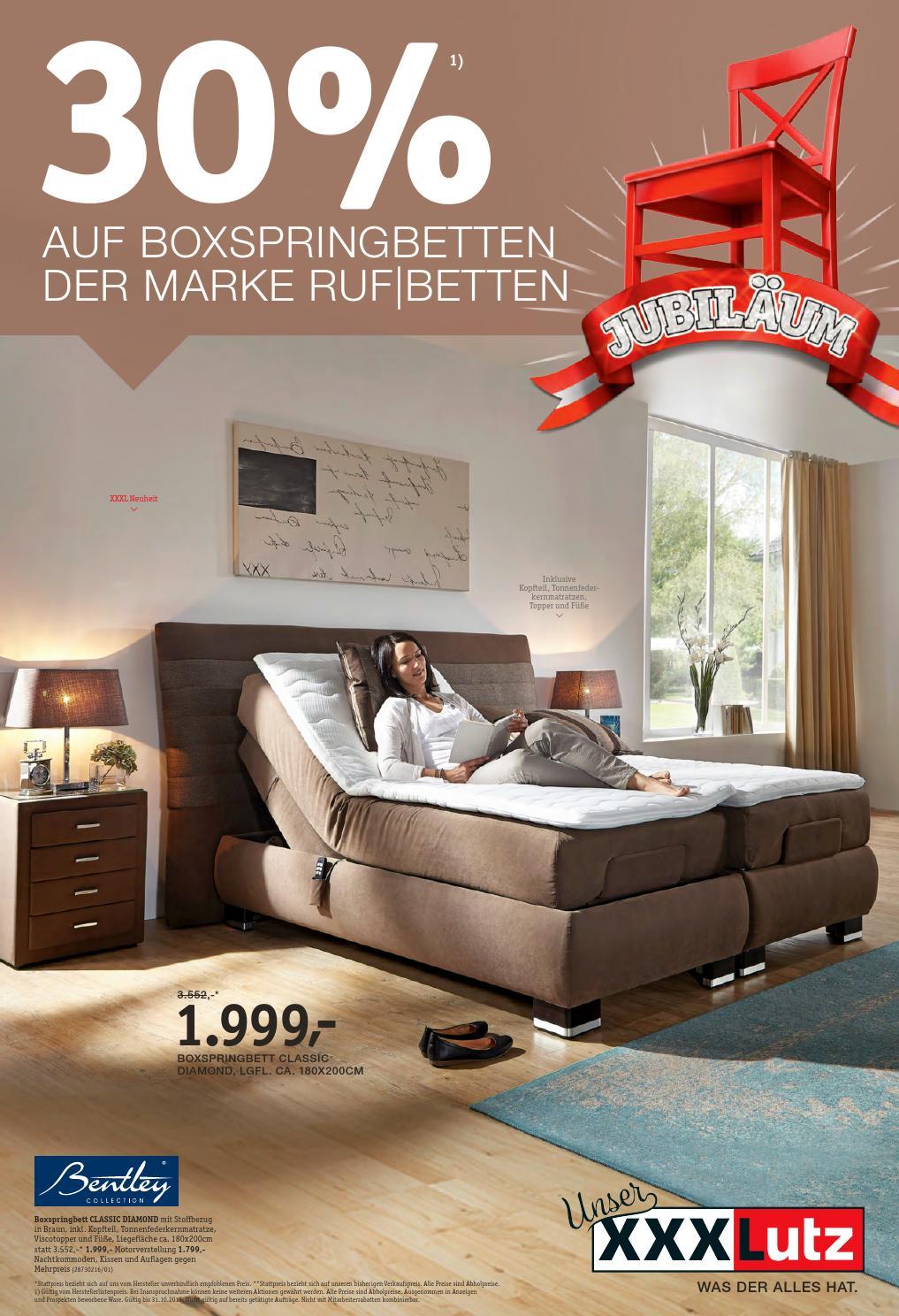 Ruf Milano Boxspringbett Exclusiv Qlx Betten Boxspring Test Xxxlutz 0510 3110 By Rakouske Letaky Fabrikverkauf Schlafzimmer Set Mit Preise Bett