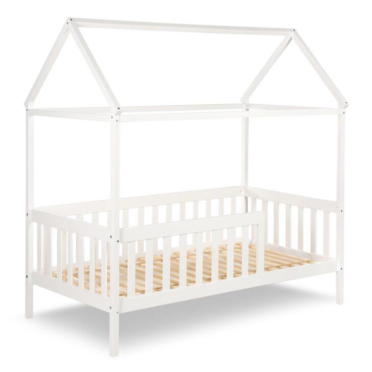 Medium Size of Hausbett 100x200 Kleinkind Bett Jojunior Mit Gitterrand Wei 80x160cm Bei Betten Weiß Wohnzimmer Hausbett 100x200