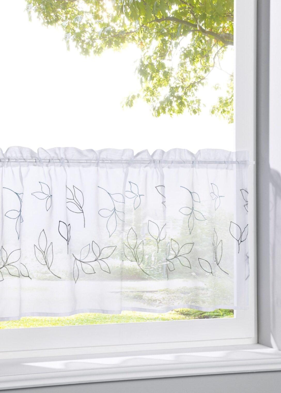 Large Size of Bonprix Gardinen Querbehang Scheibengardine Loreen Für Die Küche Schlafzimmer Wohnzimmer Betten Scheibengardinen Fenster Wohnzimmer Bonprix Gardinen Querbehang