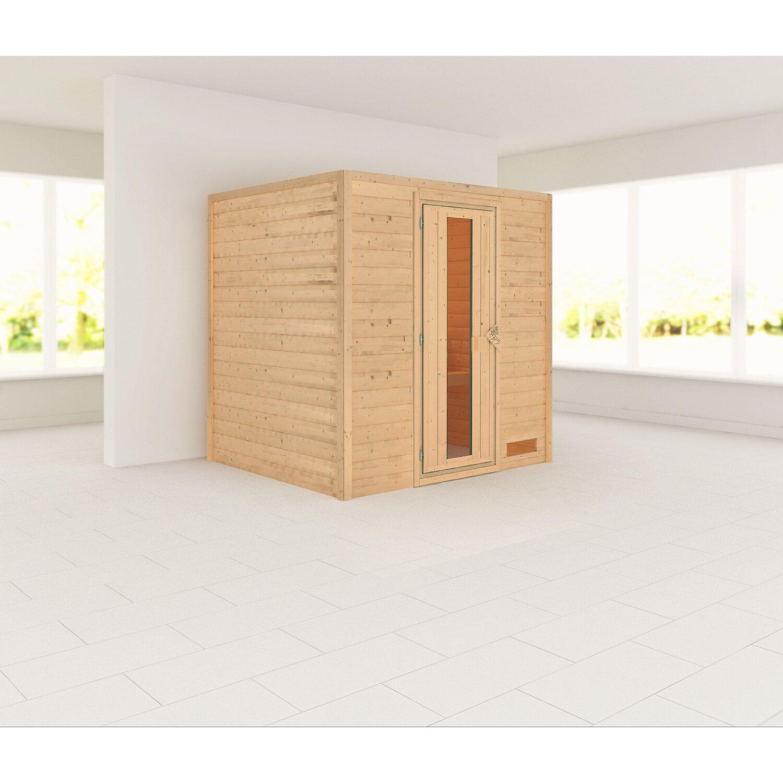 Full Size of Saunaholz Kaufen Obi Karibu Sauna Anja Mit Fronteinstieg Und Holz Glastr Bei Nobilia Küche Immobilien Bad Homburg Mobile Fenster Einbauküche Regale Wohnzimmer Saunaholz Obi