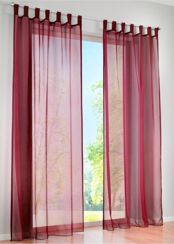 Large Size of Bonprix Gardinen Querbehang Transparente Gardine Einfarbig 1er Pack Schlafzimmer Für Die Küche Wohnzimmer Betten Fenster Scheibengardinen Wohnzimmer Bonprix Gardinen Querbehang