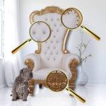 Recamiere Barock Boudoir Rot Diplomatie Chaiselongue Barockmbel Thronstuhl King Chair Sofa Im Gothic Mit Bett Wohnzimmer Recamiere Barock