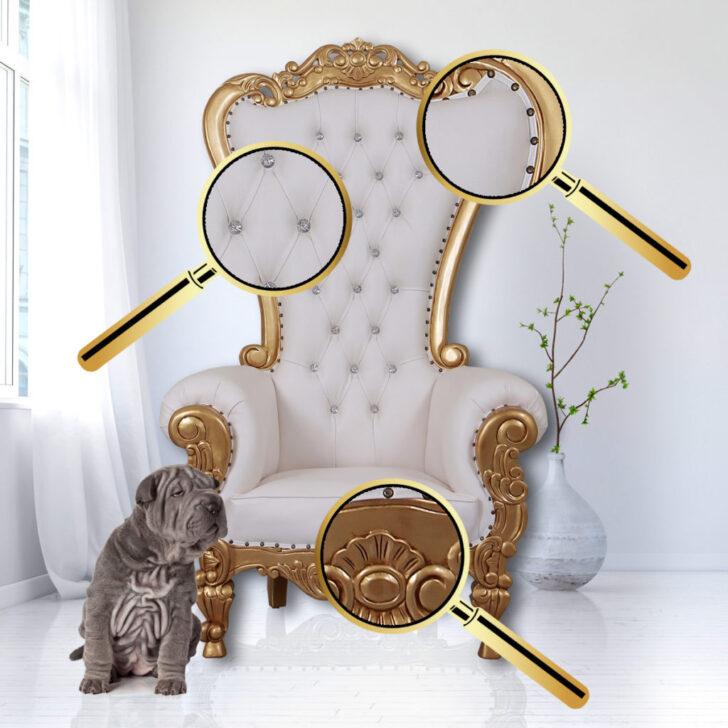 Medium Size of Recamiere Barock Boudoir Rot Diplomatie Chaiselongue Barockmbel Thronstuhl King Chair Sofa Im Gothic Mit Bett Wohnzimmer Recamiere Barock