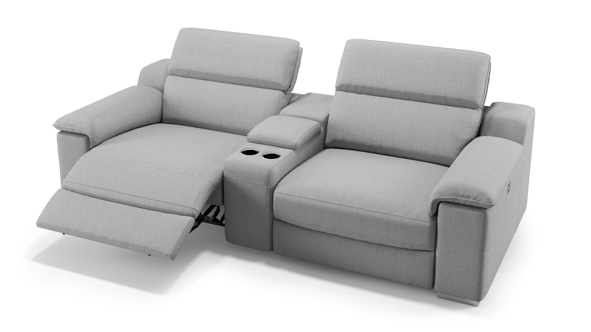 Full Size of Kinosessel 2er Microfaser Sofa Macello Mit Relaxfunktion Sofanella Grau Wohnzimmer Kinosessel 2er Microfaser
