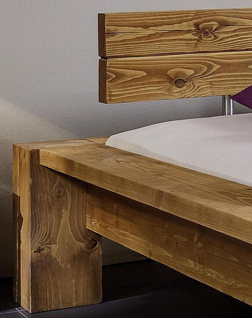 Full Size of Komplettbett 180x220 Massivholz Balkenbett Berlnge Holzbett Bettgestell Bett Wohnzimmer Komplettbett 180x220