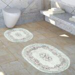 Teppich Waschbar Wohnzimmer Teppich Waschbar Badezimmer Set Ornamente Teppichde Schlafzimmer Für Küche Wohnzimmer Teppiche Steinteppich Bad Esstisch