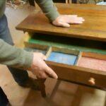 Druckertisch Holz Altes Eichen Tischchen Aufarbeiten Youtube Esstisch Sichtschutz Garten Massivholz Bett Ausziehbar Holzbrett Küche Regal Holzofen Fliesen Wohnzimmer Druckertisch Holz